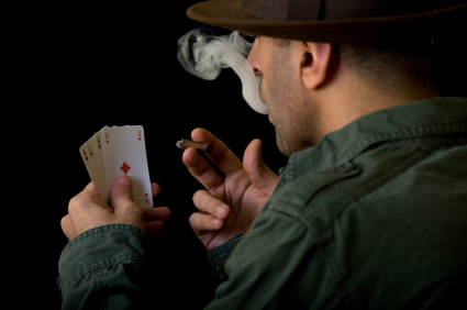 Smoking and playing Poker