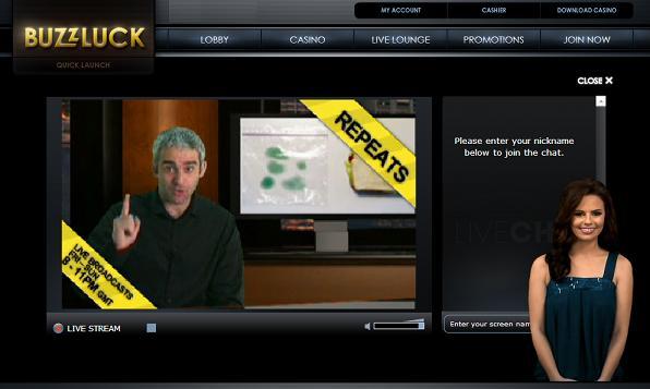 Buzzluck online casino