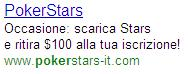 Pokerstars AdWords